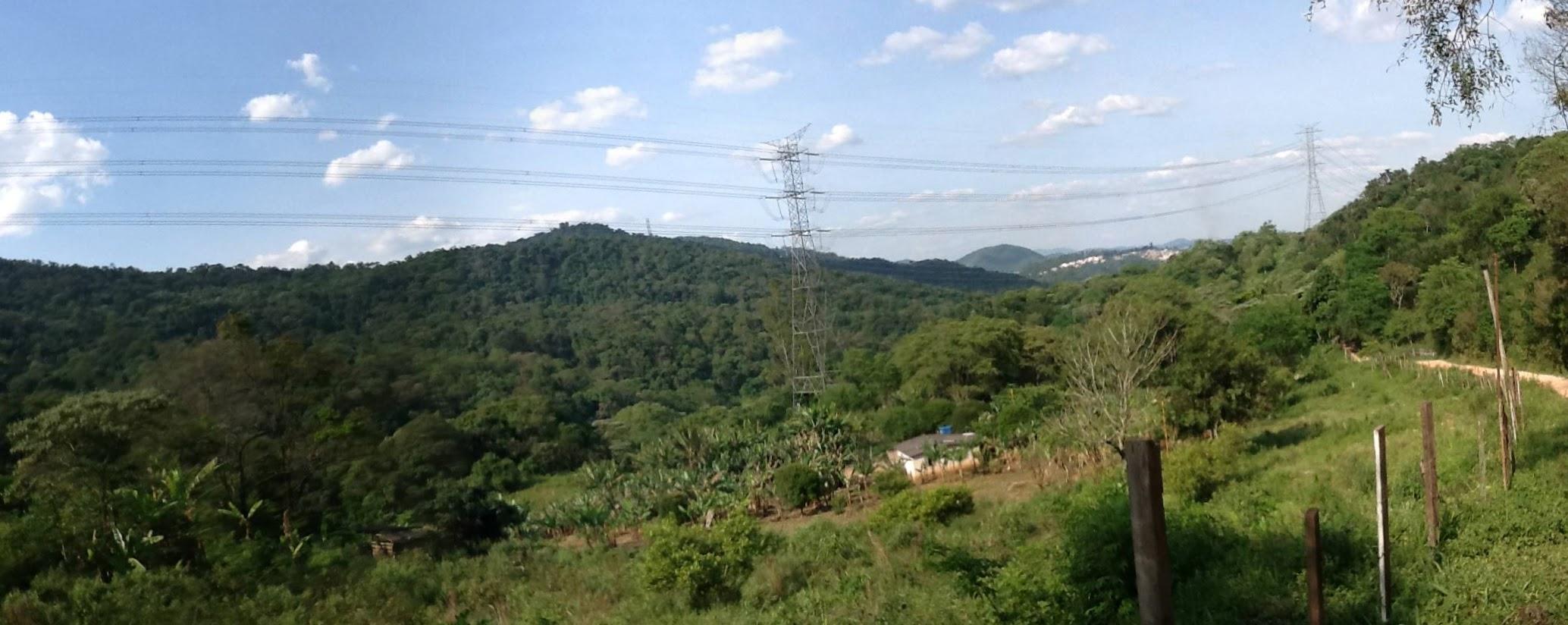 Foto: Conceição Aparecida Santos, 03/11/13!, Fazenda Santa Maria, antes do início das obras do Trecho Norte do Rodoanel