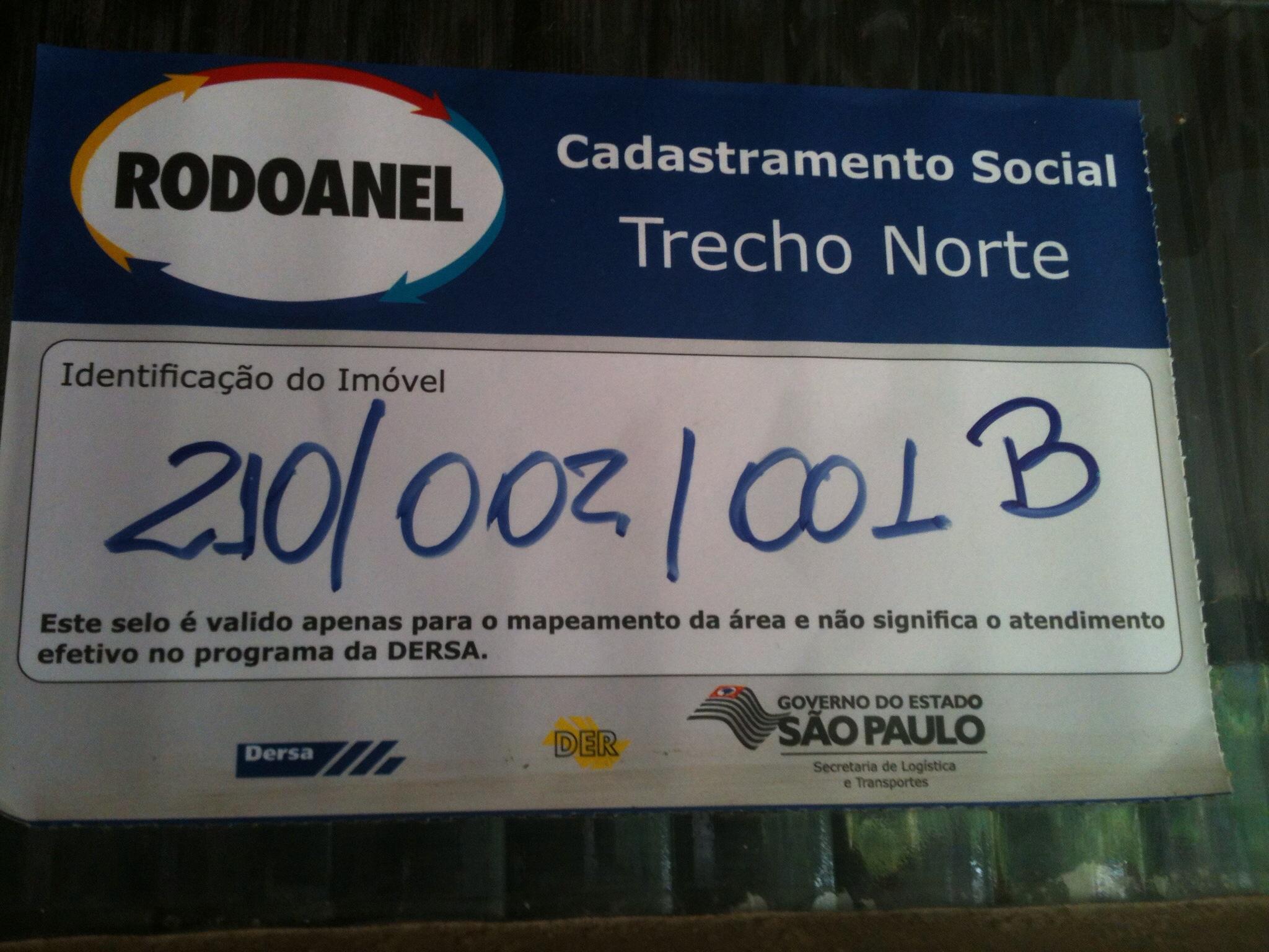 Foto: Conceição Aparecida Santos, canteiro de obras clube da Sabesp, 15/12/13.
